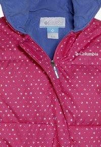 Columbia - SNUGGLY BUNNY BUNTING - Lyžařská kombinéza - pink - 4