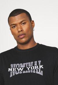 Nominal - NEW YORK TEE - Print T-shirt - black - 3
