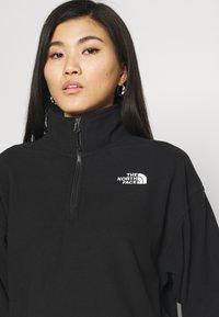 The North Face - ICE FLOE  - Fleece jumper - black - 4