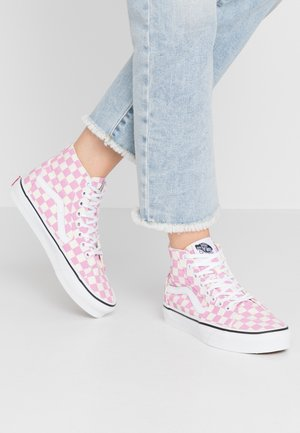 SK8 TAPERED - High-top trainers - fuchsia pink/true white