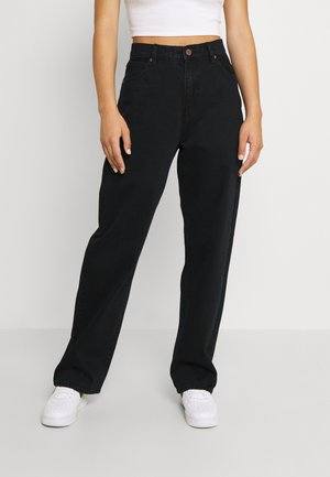 A SLOUCH - Relaxed fit -farkut - black