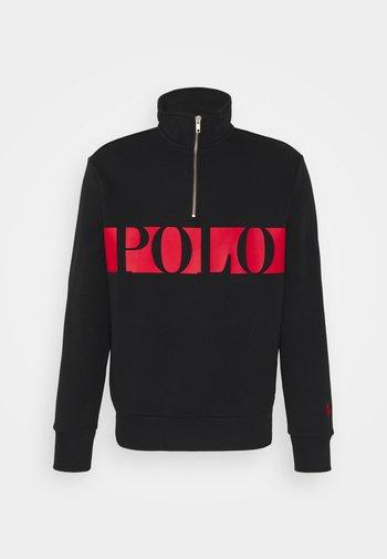 DOUBLE TECH - Sweatshirt - black