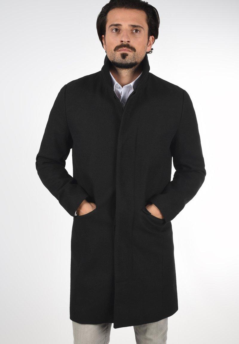 Solid - JAMPA - Classic coat - black