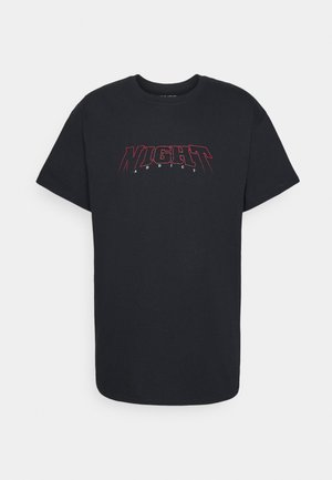 STEP - Print T-shirt - black