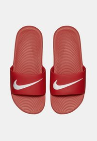 Nike Performance - KAWA SLIDE UNISEX - Pool slides - university red/white - 1