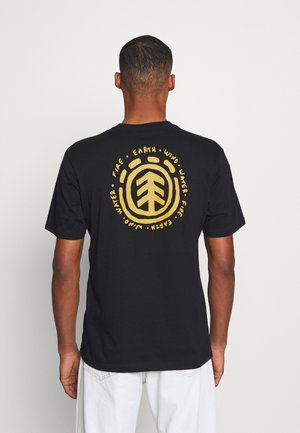 CASCO - T-shirts med print - flint black