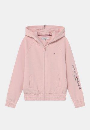 ESSENTIAL ZIP THROUGH HOODIE - Zip-up sweatshirt - delicate pink