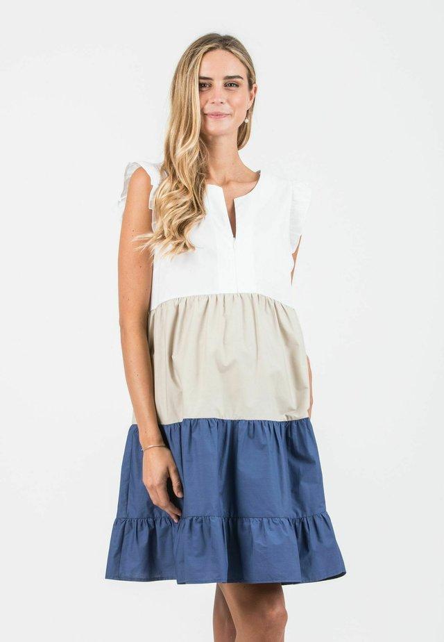 CHIARA - Korte jurk - denim