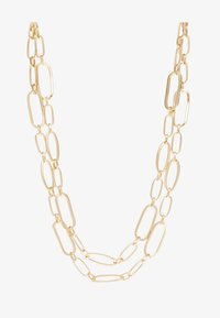 ERASE - TWO ROW MIXED LINK CHAIN - Necklace - gold-coloured - 3