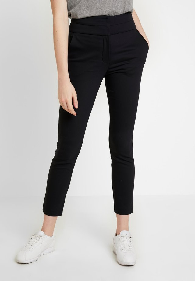 GEORGIA HIGH WAIST FULL LENGTH PANT - Pantaloni - navy