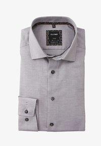 OLYMP - MODERN FIT LANGARM HAIFISCHKRAGEN  - Formal shirt - grau - 0