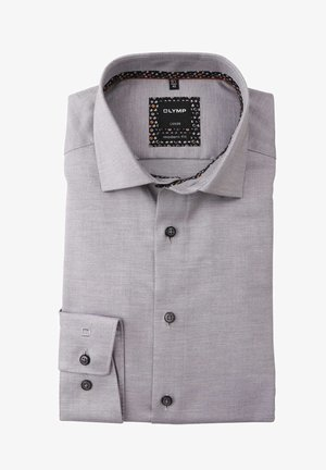 MODERN FIT LANGARM HAIFISCHKRAGEN  - Formal shirt - grau