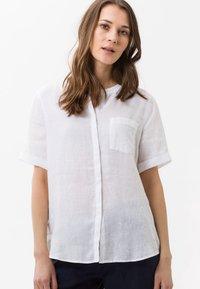 BRAX - STYLE VANIA - Button-down blouse - white - 0