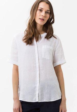 STYLE VANIA - Button-down blouse - white