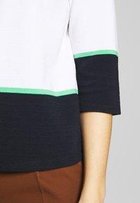 comma casual identity - Sweatshirt - white knit - 5
