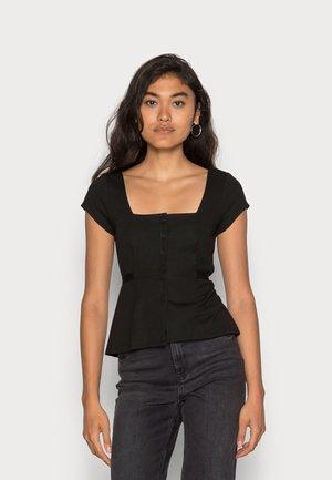ADENA - Camiseta básica - black
