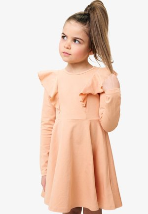 Day dress - nudy coral