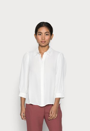 VMDORTHE 3/4 - Button-down blouse - snow white
