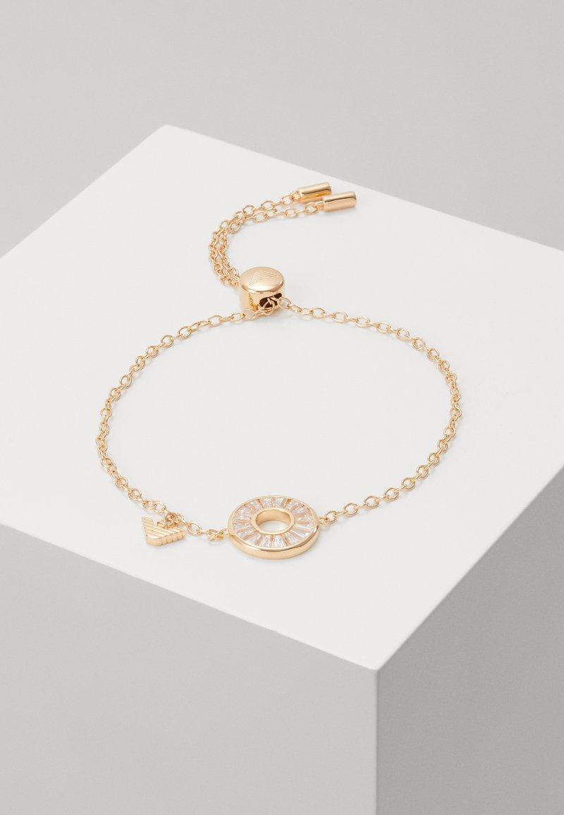 Emporio Armani - BAGUETTES - Bracelet - rose gold-coloured