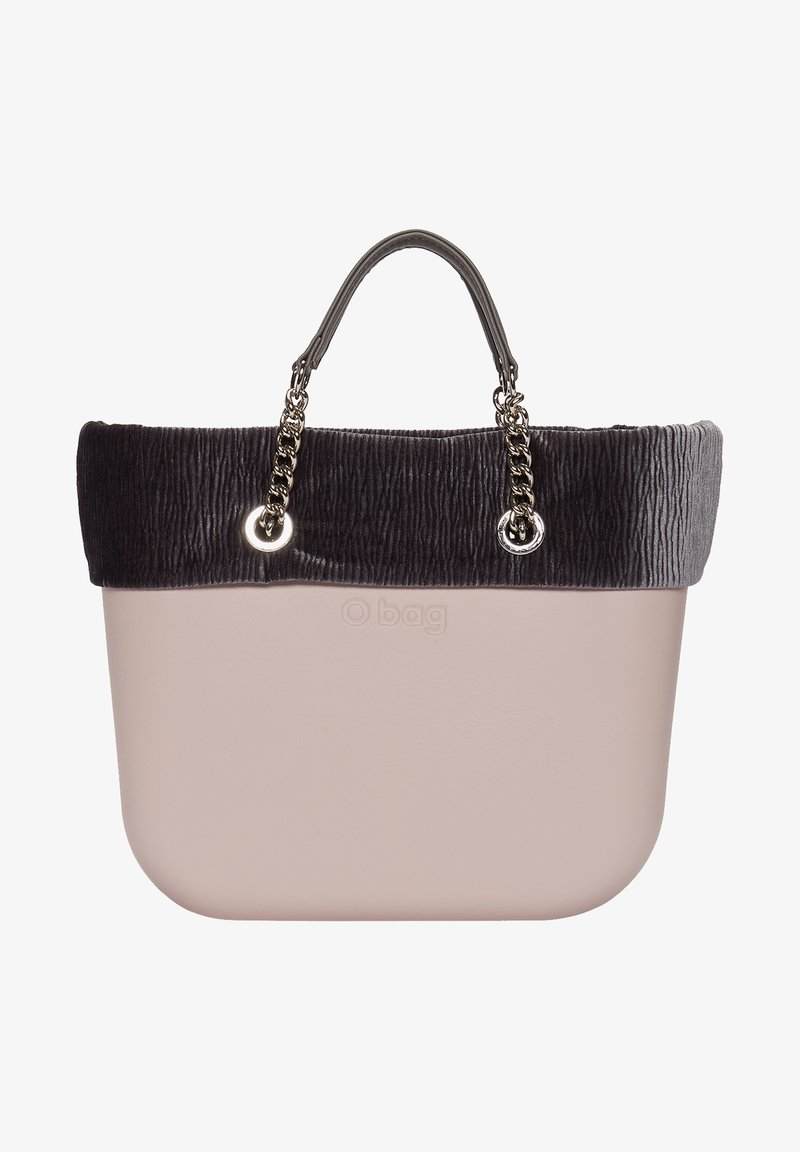 O Bag - Tote bag - rosa smoke/nero