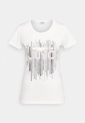 MODA - Print T-shirt - bianco