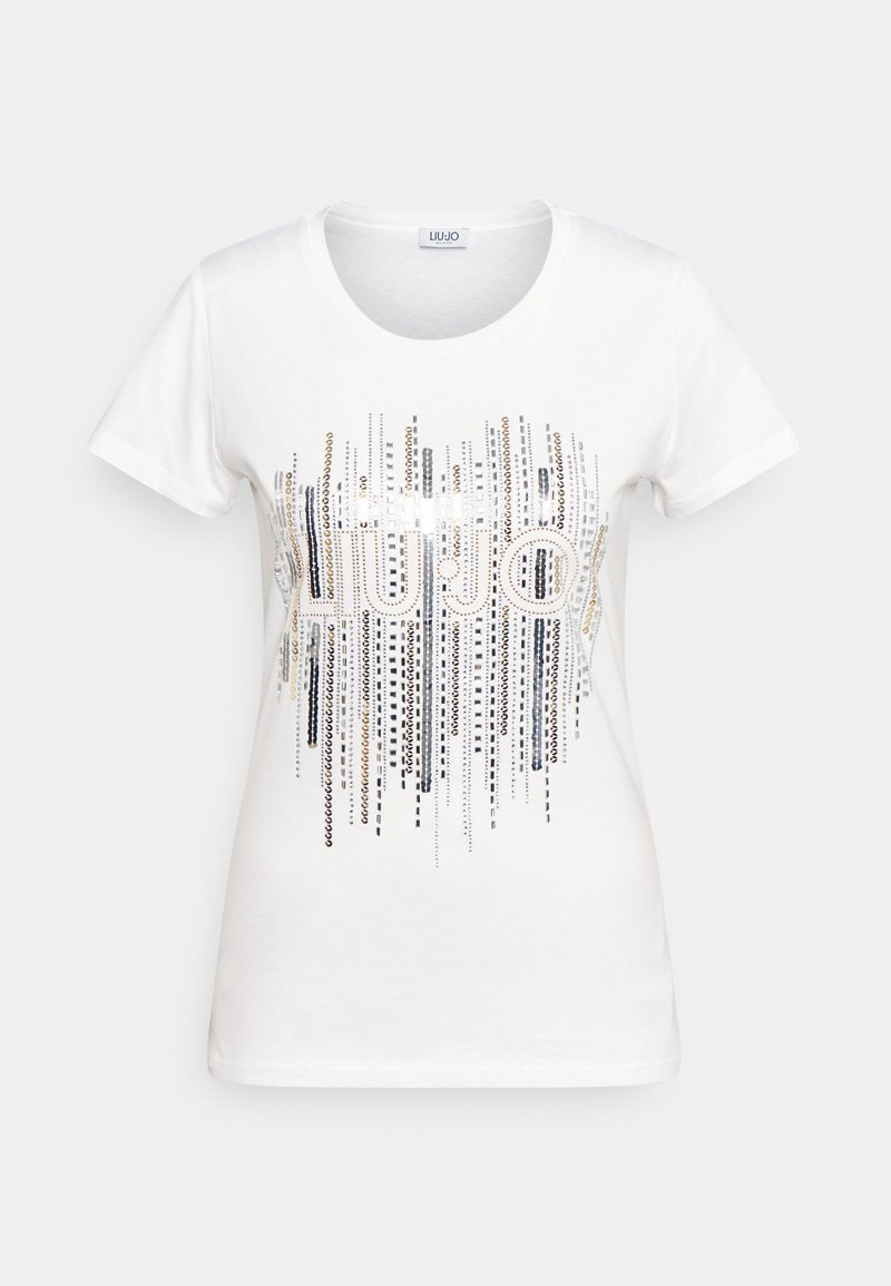 Liu Jo Jeans - MODA - Print T-shirt - bianco