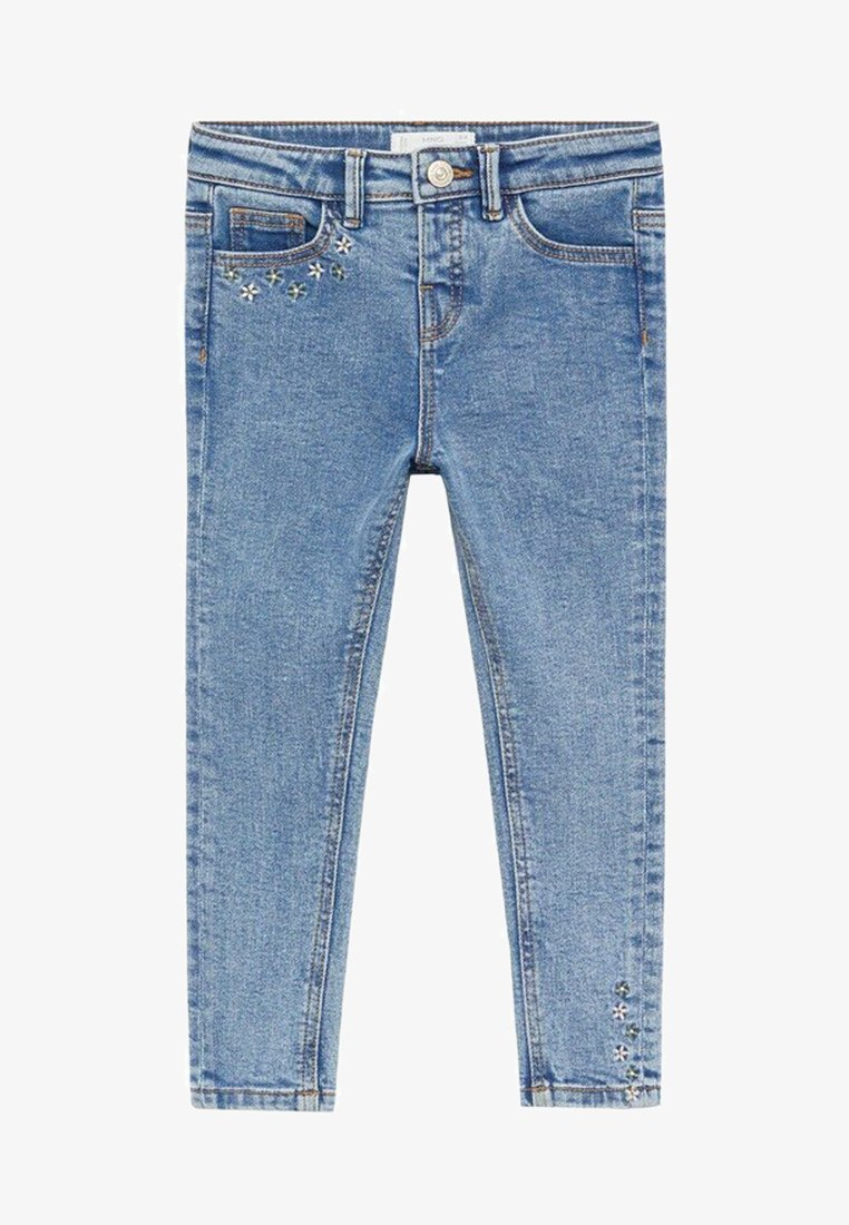 Mango - JULES - Slim fit jeans - middenblauw
