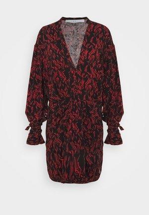 YHAZ - Day dress - black/red