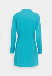 Missguided - BELT BLAZER DRESS - Vestido de cóctel - teal - 1