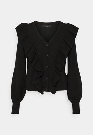 ANEMONE MIRELLA  - Cardigan - black