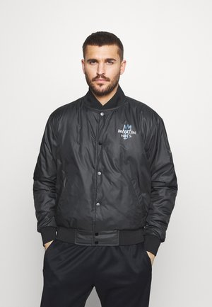 NBA BROOKLYN NETS CITY EDITION JACKET - Trainingsvest - black