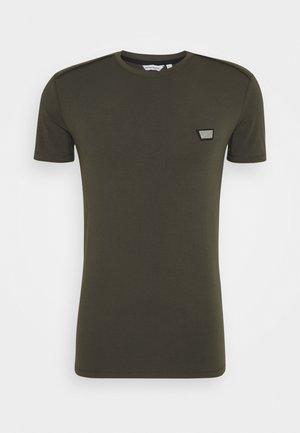 SUPER SLIM FIT - Basic T-shirt - green