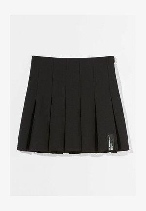 MIT KELLERFALTEN - Pleated skirt - black