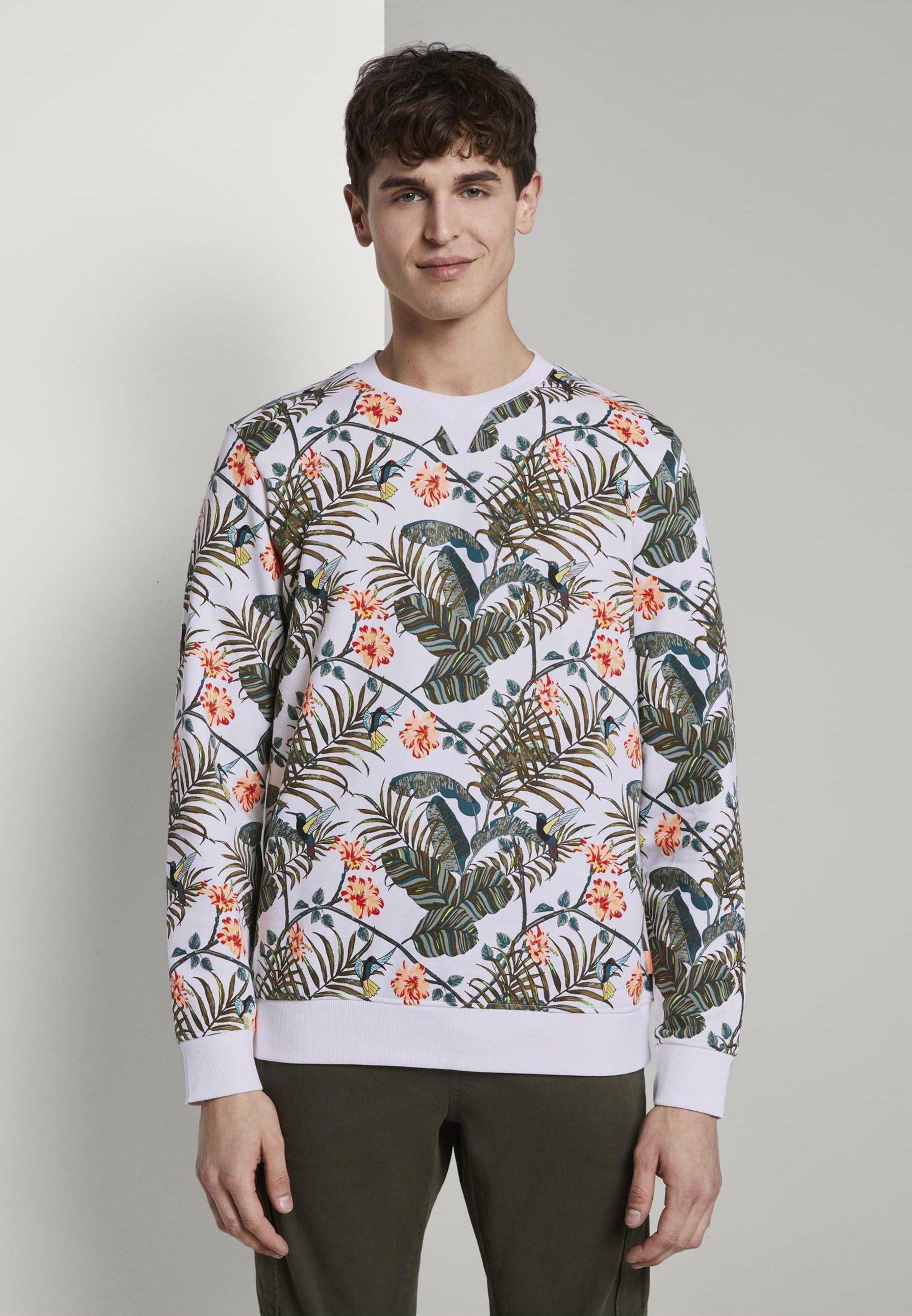 TOM TAILOR Sweatshirt »Sweatshirt mit Print« | OTTO | Print