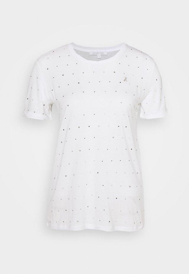 MAGLIA - T-shirt z nadrukiem - bianco