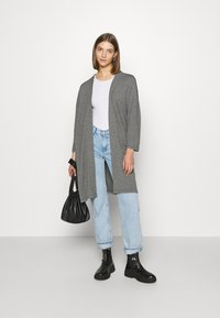 ONLY - ONLDIANA LONG CARDIGAN  - Cardigan - grey - 1