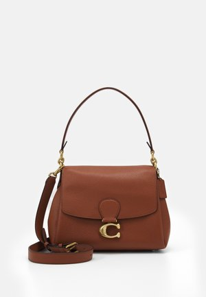 MAY SHOULDER BAG - Handbag - saddle