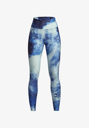 KEIRA  - Leggings - blue space dyed