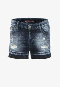 Cipo & Baxx - Denim shorts - darkblue - 3