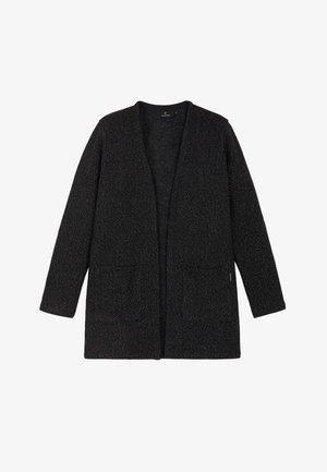 GUAVA - Short coat - black waffle