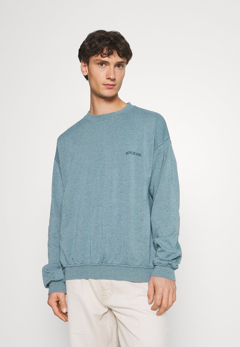 BDG Urban Outfitters - CREWNECK UNISEX - Sweatshirt - mineral green