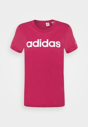 Camiseta estampada - wild pink/white