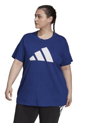 FI 3B SPORTS PRIMEGREEN T-SHIRT LOOSE - Triko spotiskem - victory blue