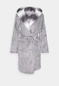 Loungeable - RACOON HOODED ROBE - Dressing gown - grey - 5