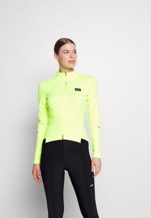GORE® WEAR PROGRESS THERMO WOMENS - Trainingsjacke - neon yellow