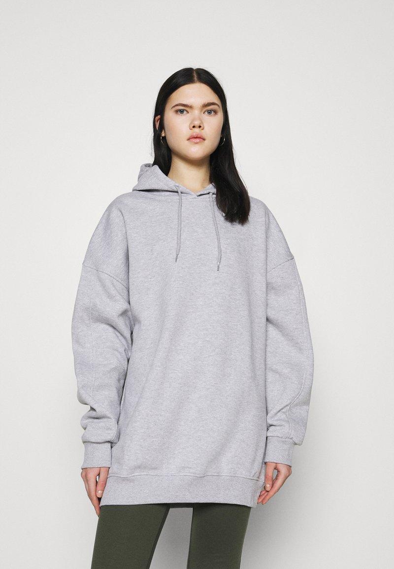 4th & Reckless - IRIANA HOODIE - Sweatshirt - grey