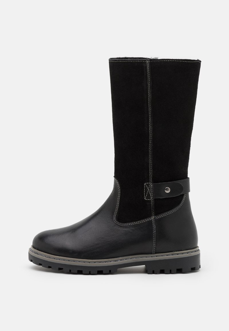 Friboo - LEATHER - Boots - black
