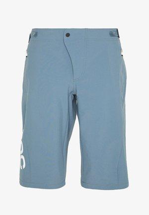 ESSENTIAL ENDURO SHORTS - kurze Sporthose - calcite blue