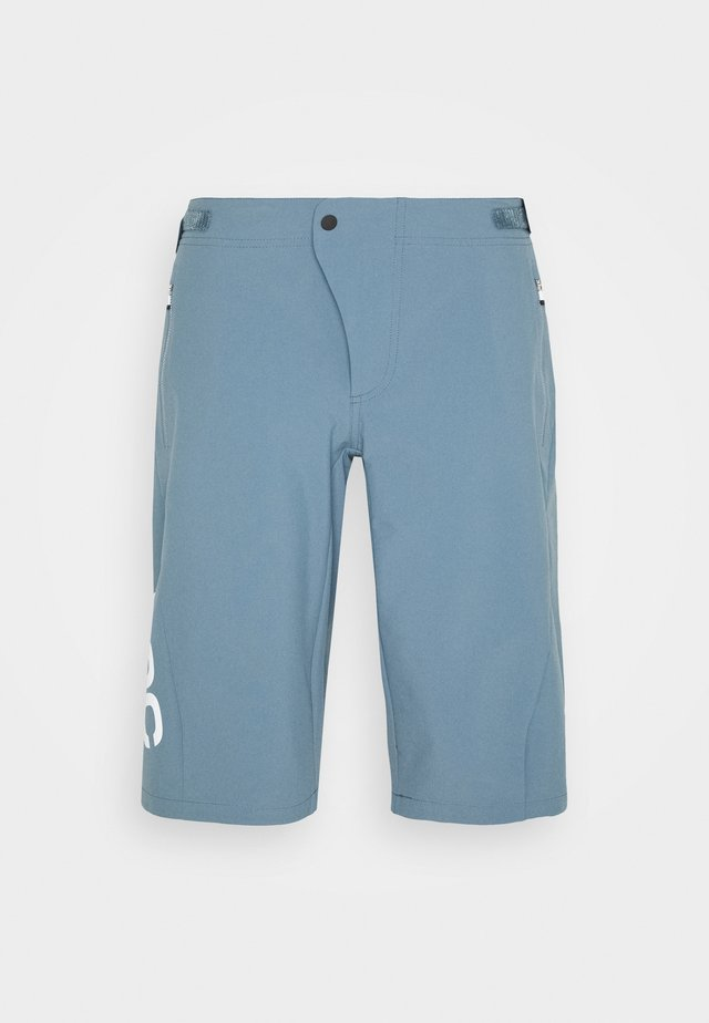 ESSENTIAL ENDURO SHORTS - Pantaloncini sportivi - calcite blue