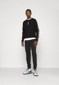 HUGO - DOBY - Long sleeved top - black - 1